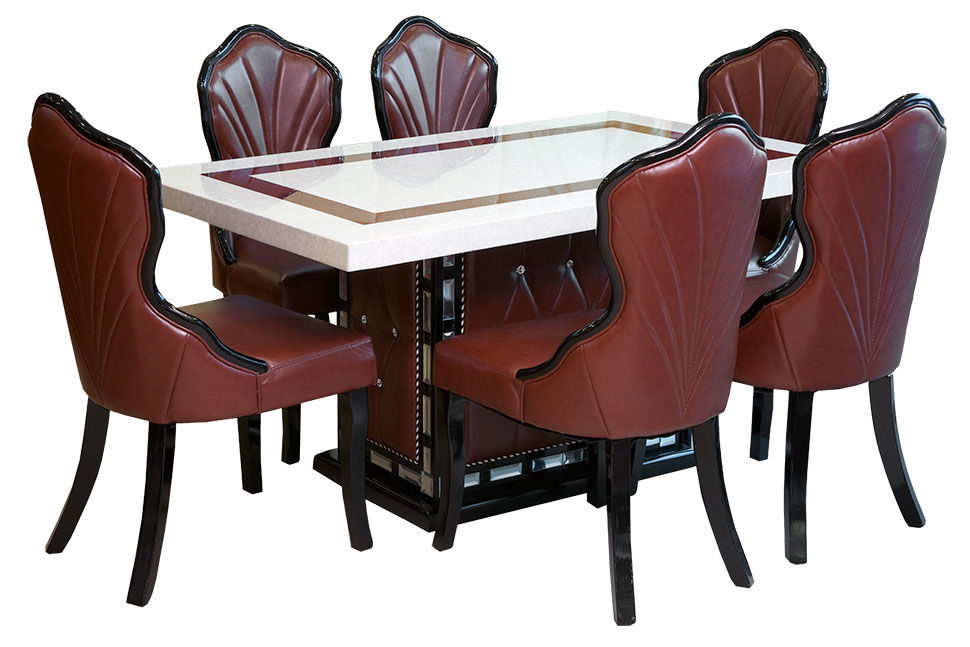 6-Chair Dining Table Set
