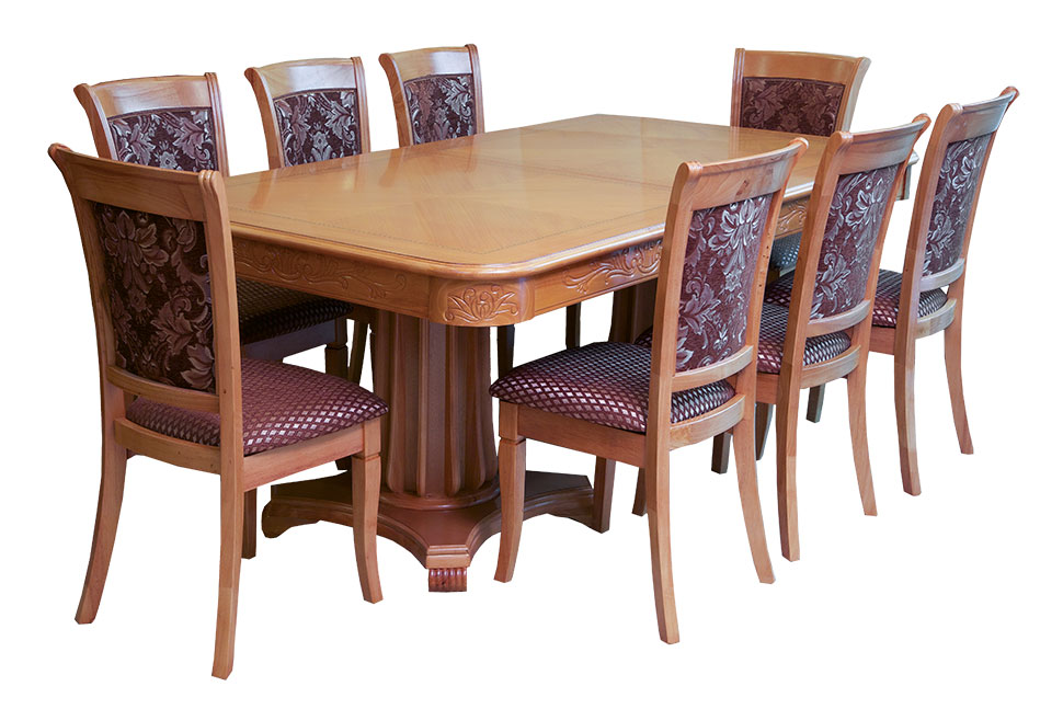 8-Chairs Dining Table Set